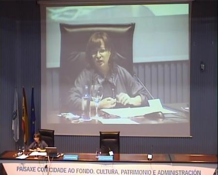Cristina Giménez Navarro, departamento de Historia da Arte da Universidade de Zaragoza